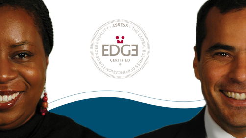 In 2016 we were awarded the first level of EDGE Certification